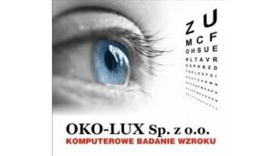 OKO-LUX Sp. z o.o. zaprasza na badanie wzroku